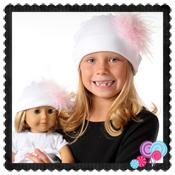 White Hat Pink Marabou